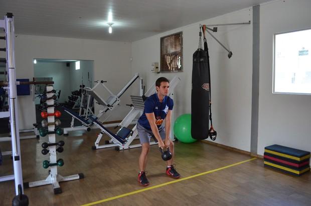 Treinamento funcional é a nova sensação em Cacoal (Foto: Fernanda Bonilha)