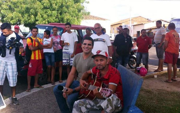 Valorização dos artistas de rua é destaque em Elesbão Veloso (Foto: Gshow/Rede Clube)