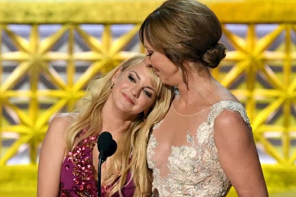 As atrizes Anna Farris e Allison Janney (Foto: Getty Images)