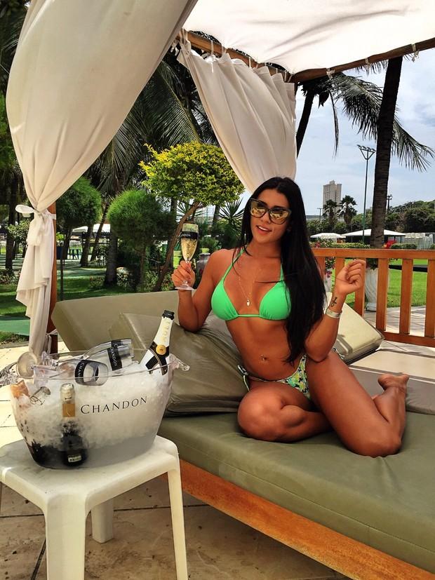 """Cíntia Vallentim, a capa da 'Playboy"""" de novembro (Foto: Divulgação)"""