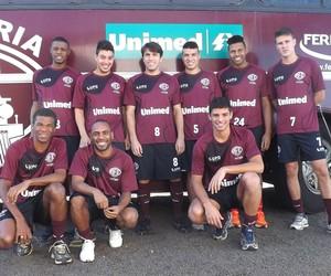Jogadores da Ferroviária se reapresentam para Copa Paulista 2014 (Foto: Carlos André de Souza/Arquivo pessoal)
