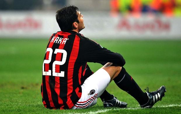 Kaká com a camisa do Milan (Foto: Getty Images)