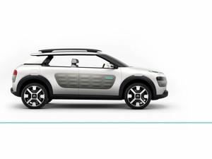 Cactus é o novo conceito da Citroën (Foto: Divulgação)