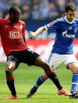 Raul, Schalke x Hertha BSC (Foto: AFP)