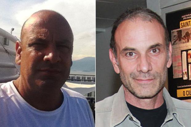 Giuliano Ricca e Marco Ricca (Foto: Facebook / Reprodução e Celso Tavares / EGO)