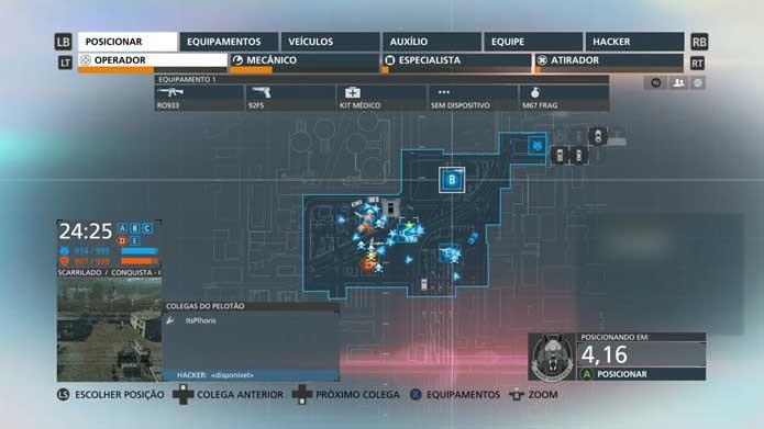 Battlefield: Hardline conta com mapa simplificado (Foto: Reprodução/Murilo Molina)