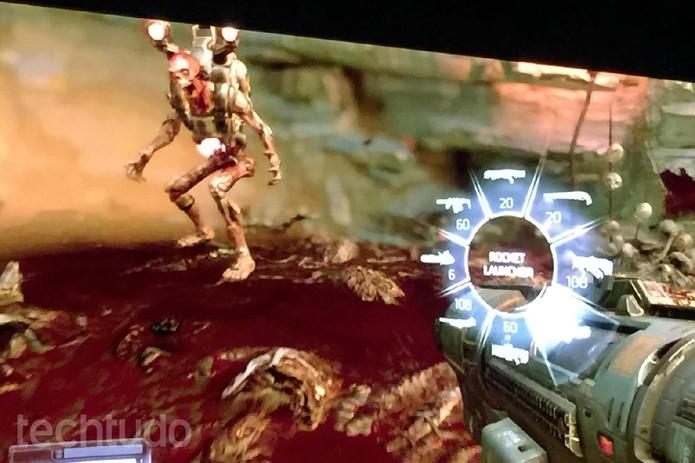 Doom é anunciado pela Bethesda na E3 2015  (Foto: Viviane Werneck/TechTudo)