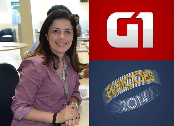 Joelma Gonçalves, coordenadora do G1 Sergipe (Foto: Divulgação / TV Sergipe)