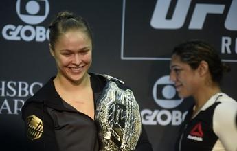Ronda ganha da Reebok valor 4 vezes maior que o de Minotauro no UFC 190