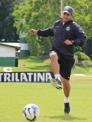 Marquinhos Santos treino Coritiba