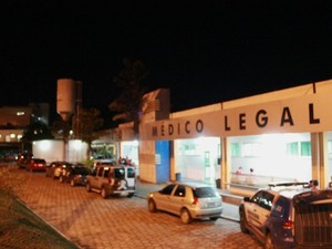 Instituto Médico Legal, em Manaus (Foto: Marcos Dantas/G1 AM)
