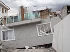 Sobrado desaba em Taboão da Serra, na Grande SP