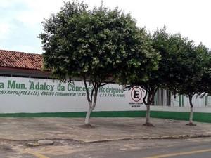 Escola Municipal Adalcy da Conceição Rodrigues, em Alto Araguaia (Foto: Divulgação)