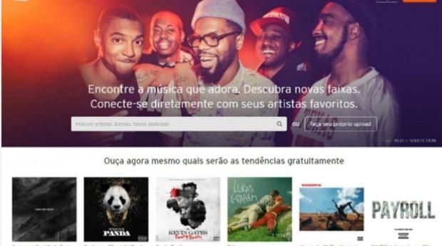 Colocar uma música no Soundcloud não requer nenhum tipo de burocracia, o que faz dele um dos principais aplicativos para que bandas independentes possam se promover  (Foto: Reprodução)