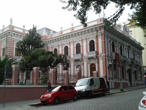 Palácio Cruz e Sousa recebeu pouco mais de 30 mil visitantes em 2014 (Foto: Valéria Martins/G1)