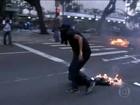 Atos de vandalismo 'são inaceitáveis', diz Alckmin sobre protesto no Centro