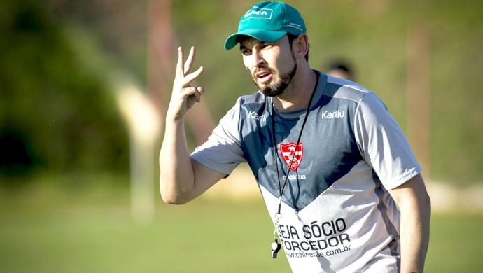 Moisés Egert, técnico, Linense, Copa Paulista (Foto: José Luis Silva / Ag. CA Linense)