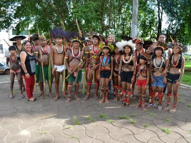 Indígenas de Cacoal irão discutir polícias públicas em sessão da câmara para facilitar escoamento de produtos agrícolas cultivados nas aldeias (Foto: Magda Oliveira/G1)
