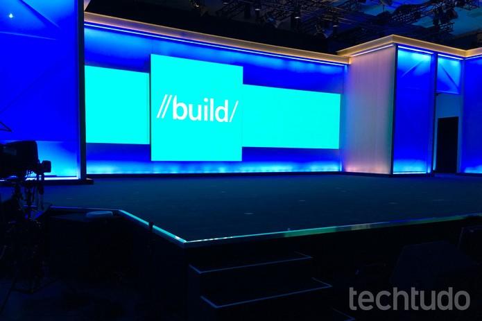 Durante a Build 2016, Microsoft quase não falou sobre seu sistema para celulares (Foto: Thássius Veloso/TechTudo)