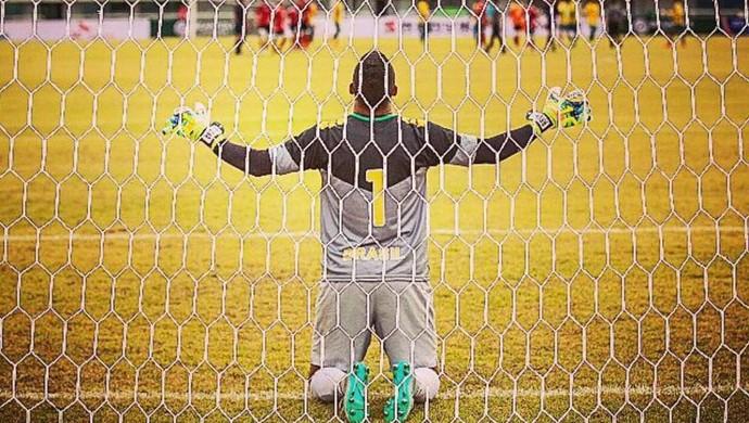 Caio Borges é o novo goleiro do Genus  (Foto: Arquivo pessoal )
