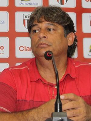 Marcelo Veiga, técnico do Botafogo-SP (Foto: Rogério Moroti / Agência Botafogo)