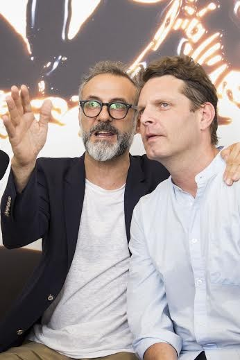 Massimo Bottura e David Hertz (Foto: Julia Assis)