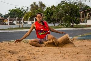 Lissandra Maysa Campos, Atletismo Mato Grosso (Foto: Junior Martins/Divulgação)