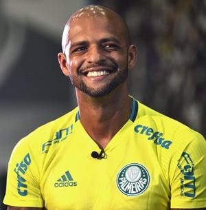 Felipe Melo Palmeiras (Foto: Marcos Riboli)