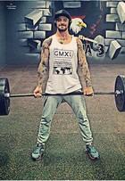 Felipe Titto ganha 8kg de músculo e diz: 'Mais forte e com 6,5% de gordura'