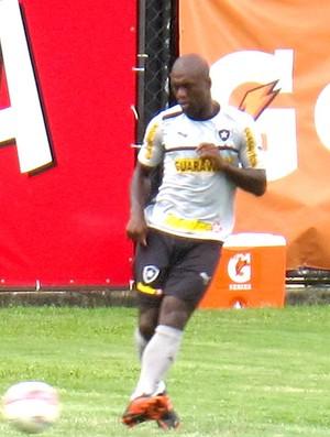 Seedorf no treino do Botafogo (Foto: Fred Huber)