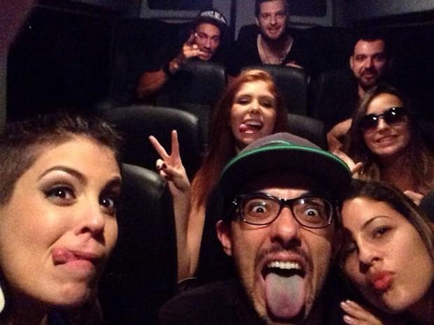 Ex-BBBs juntos em van (Foto: Instagram / Reprodução)