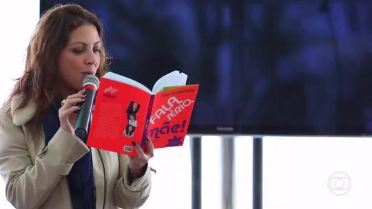 Ações no quiosque da Globo, no Rio, incentivam jovens e adultos à leitura