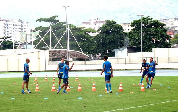 treino Botafogo (Foto: Fabio Leme)
