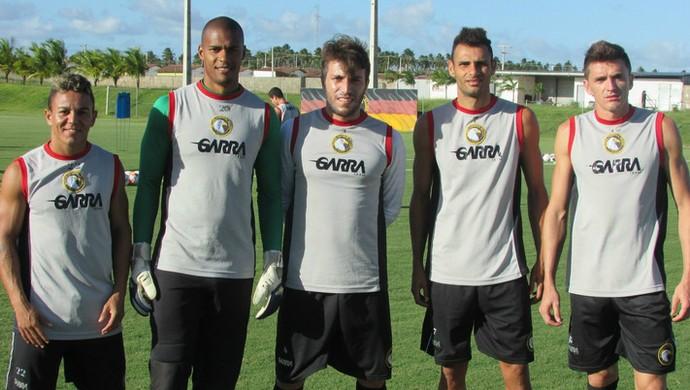 RN - Globo FC reforços (Foto: Rhuan Carlos/Divulgação)