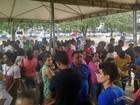 Eleitores fazem fila no penúltimo dia do Cadastro Eleitoral em Palmas