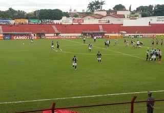 Estádio, Gilbertão, Gilberto Siqueira Lopes, Lins, Linense, Ponte Preta, Paulistão (Foto: Sérgio Pais)