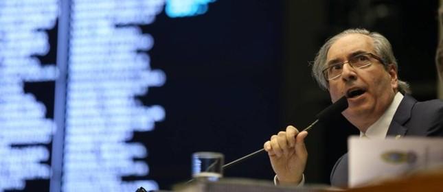 Eduardo Cunha, presidente da Câmara dos Deputados (Foto: Ailton de Freitas / Agência O Globo )