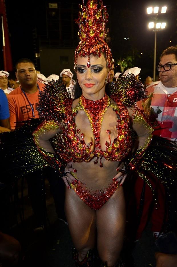 Viviane Araújo no Salgueiro (Foto: Roberto Teixeira/ EGO)