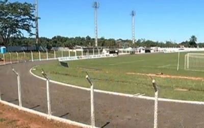 Estádio Virotão Naviraí MS (Foto: Reprodução/TV Morena)