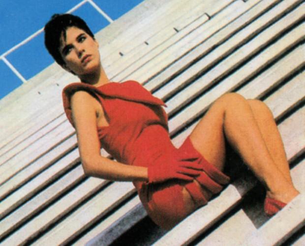Paula Toller na década de 80; ela já teve muitos visuais diferentes (Foto: Divulgação)