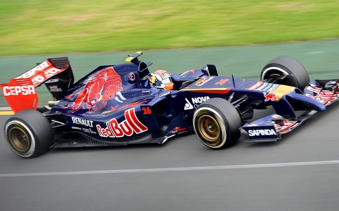 Daniil Kvyat prova GP Austrália (Foto: AFP)