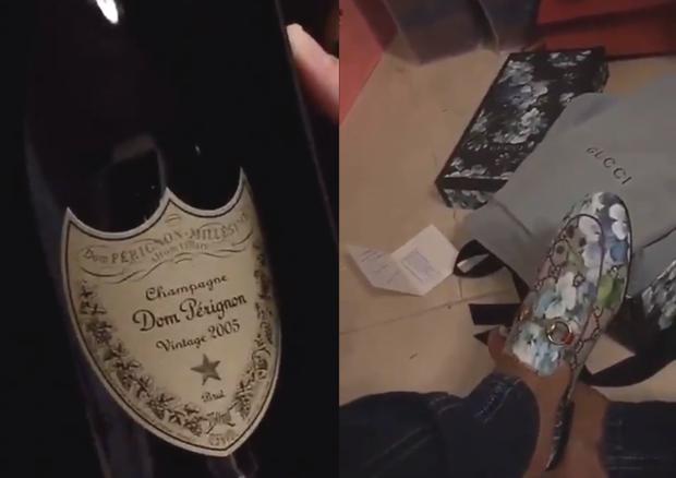 Anitta mostra seus presentes (Foto: Reprodução/Instagram)