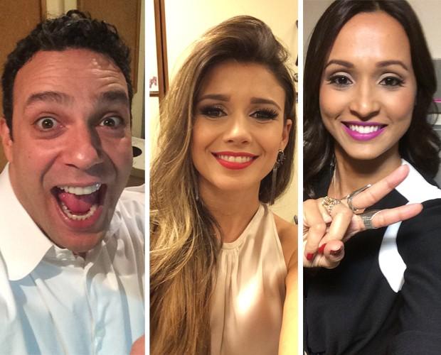 Marcelo Médici, Paula Fernandes e Thaíssa Carvalho  (Foto: The Voice Brasil/Gshow)