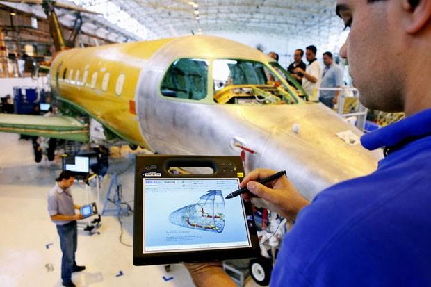 Nova exposição fala do design de aviões (Foto: Divulgação)