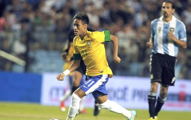 Neymar, Argentina e Brasil (Foto: Agência Reuters)