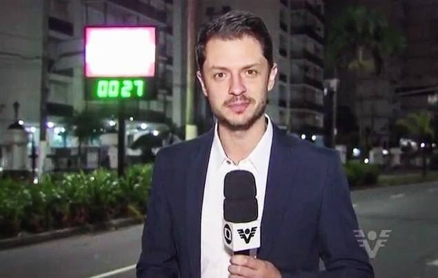 Renan Fiuza, repórter da TV Tribuna (Foto: Reprodução/TV Tribuna)