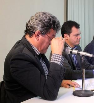 Relator do caso Flamengo-PI, Édisel Belleza (Foto: Josiel Martins)