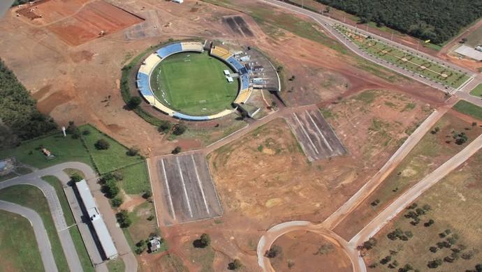 Vila Olímpica será próxima ao estádio Nilton Santos (Foto: Divulgação)