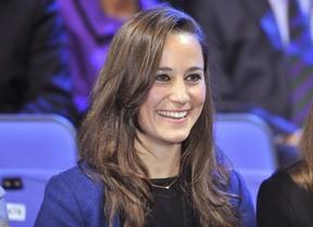 Pippa Middleton aparece sorridente após separação do namorado (Foto: Reuters)