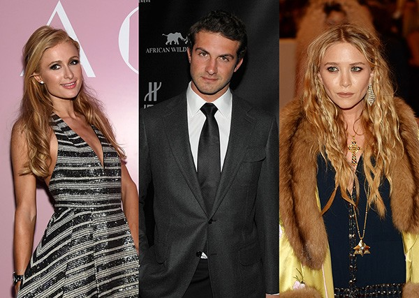 Paris Hilton, Stavros Niarchos III, Mary-Kate Olsen (Foto: Getty Images)